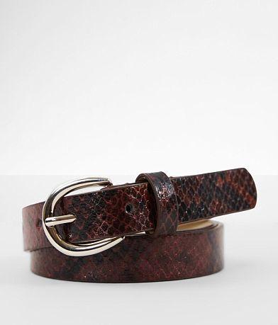 BKE Snake Print Belt