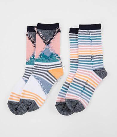 BKE 2 Pack Crew Socks