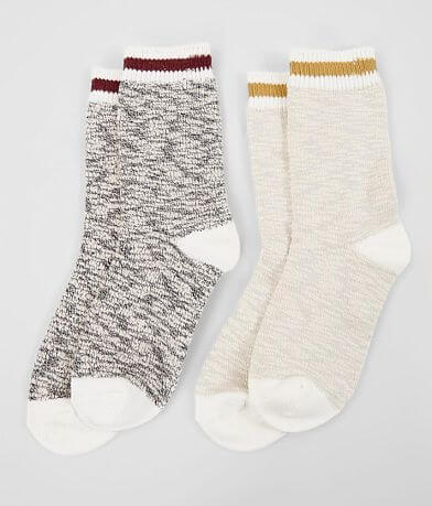 BKE 2 Pack Varsity Striped Socks