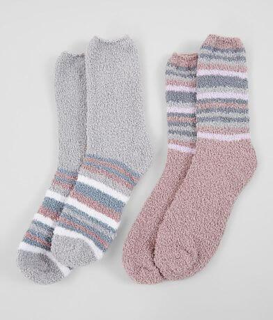 BKE 2 Pack Striped Socks