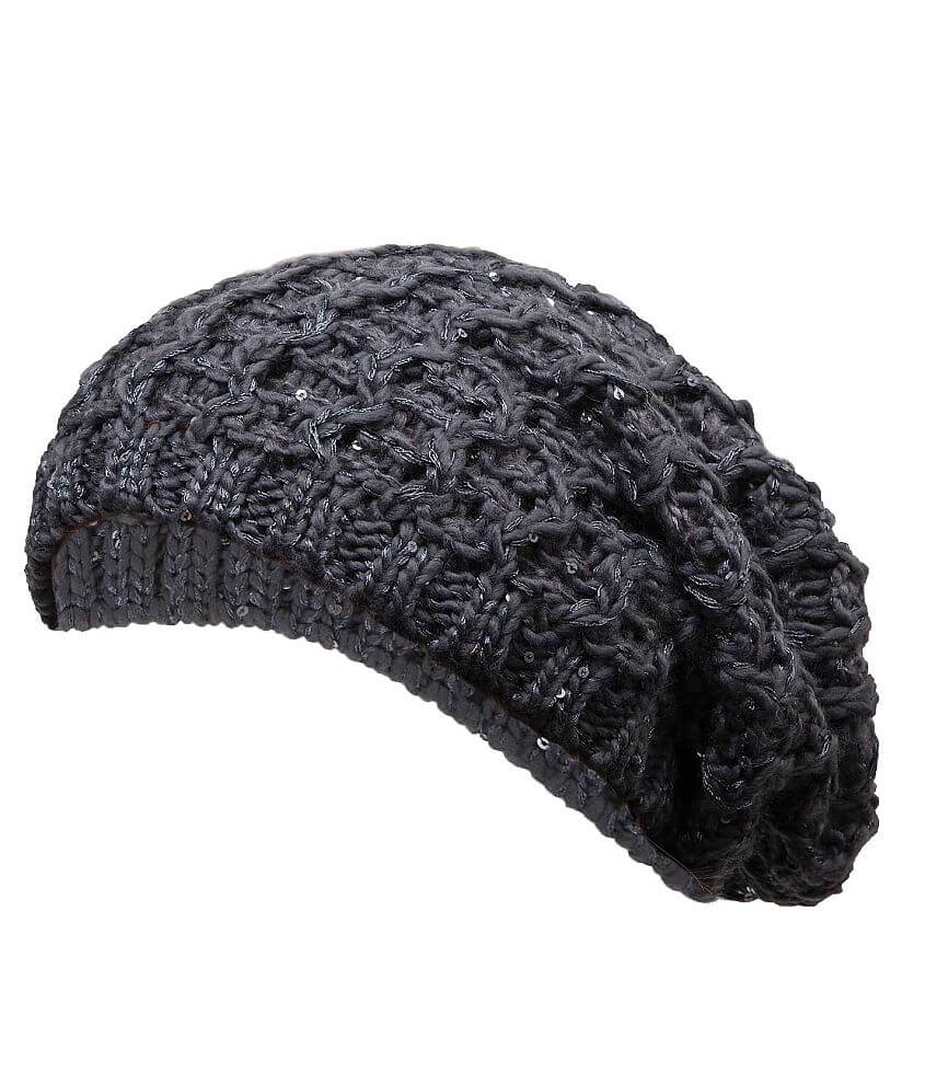Open Weave Beanie front view