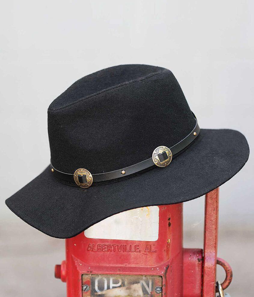 Wide Brim Hat front view