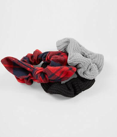 Haute 3 Pack Hair Scrunchies