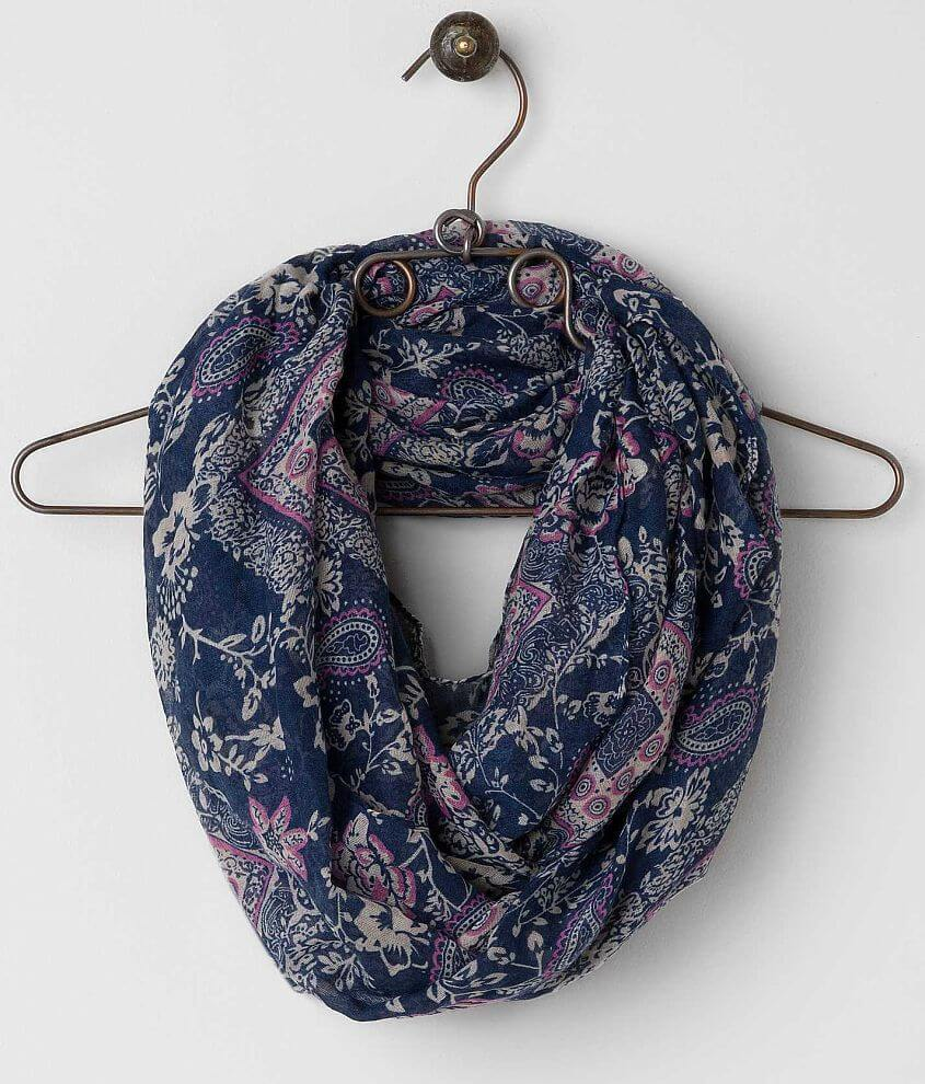 Printed Scarf front view
