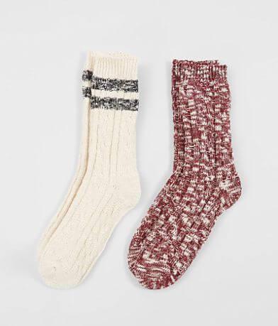 BKE 2 Pack Knit Socks