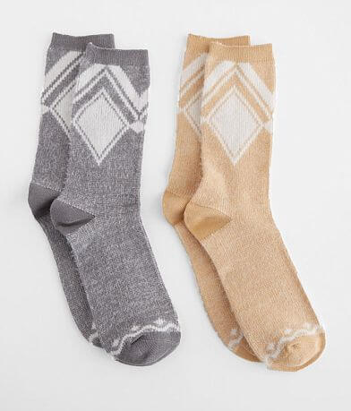BKE 2 Pack Chevron Socks