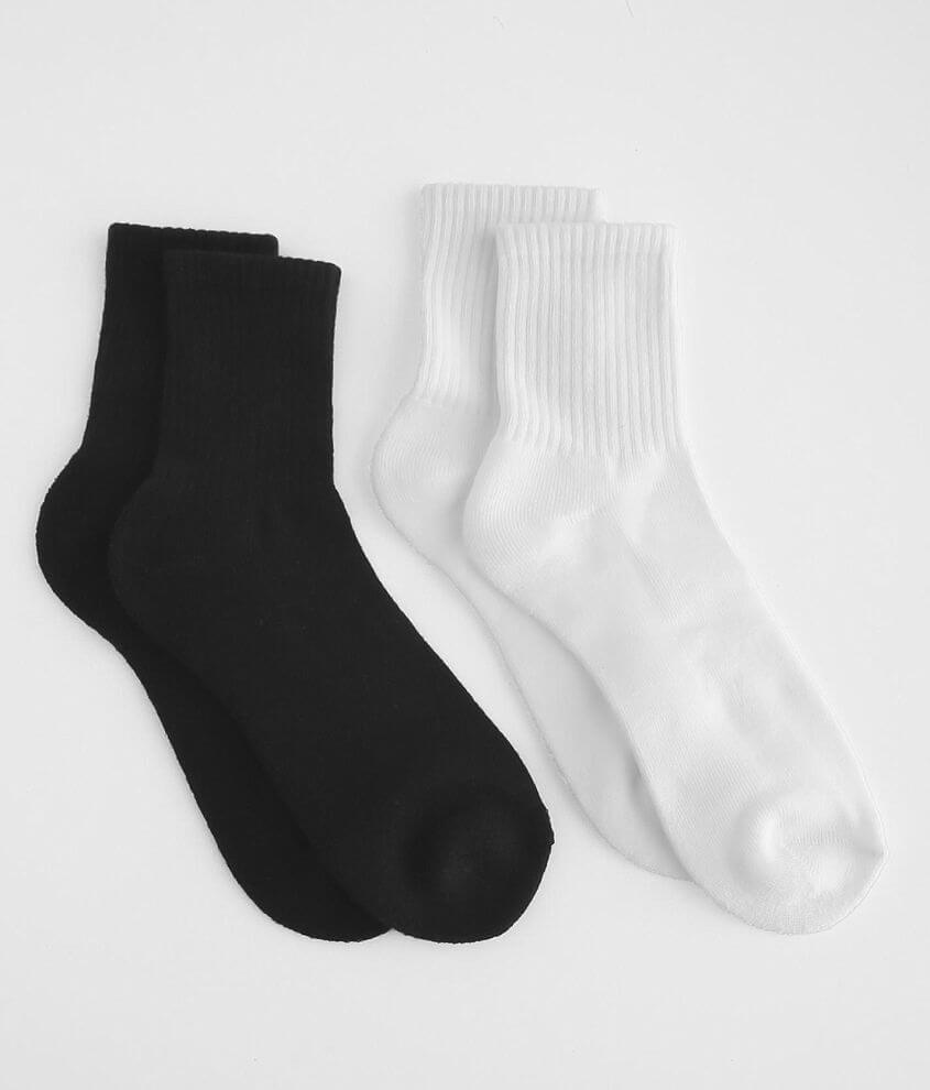 BKE 2 Pack Ankle Socks front view