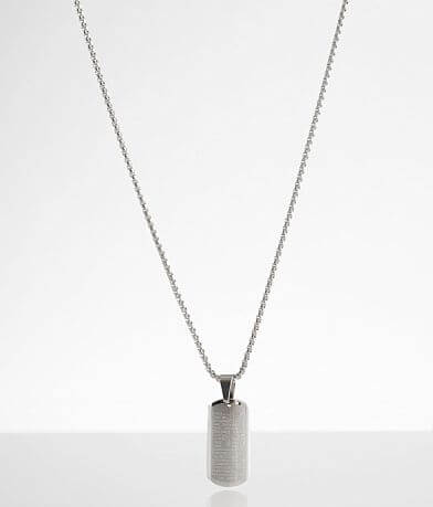 BKE Lord's Prayer Necklace