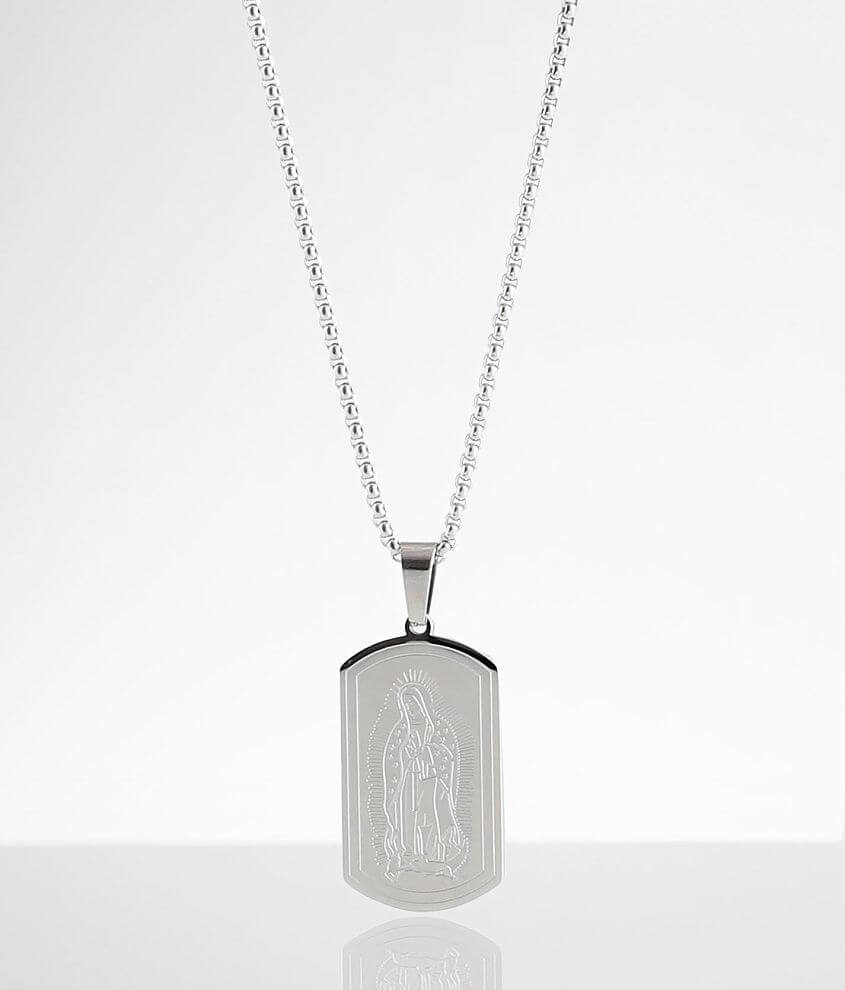 BKE Virgin Mary Necklace front view