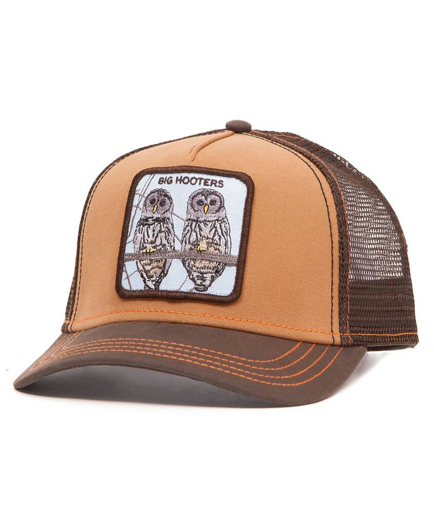 Goorin Brothers Hooters Trucker Hat front view