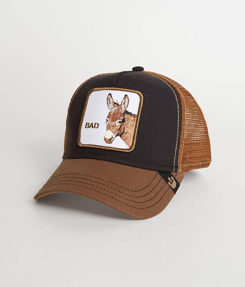 9004ce47 Goorin Brothers Donkey Trucker Hat - Men's Hats in Black | Buckle