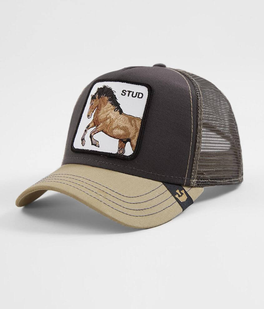 f9572f0831d046 Goorin Brothers You Stud Trucker Hat - Men's Hats in Grey | Buckle