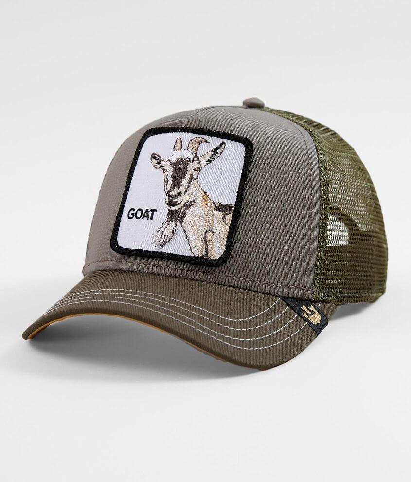 fa49320e9fc Goorin Brothers Goat Beard Trucker Hat - Men's Hats in Olive | Buckle