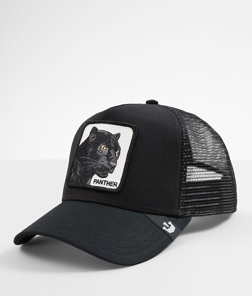 e3b456490470ed Goorin Brothers Black Panther Trucker Hat - Men's Hats in Black | Buckle