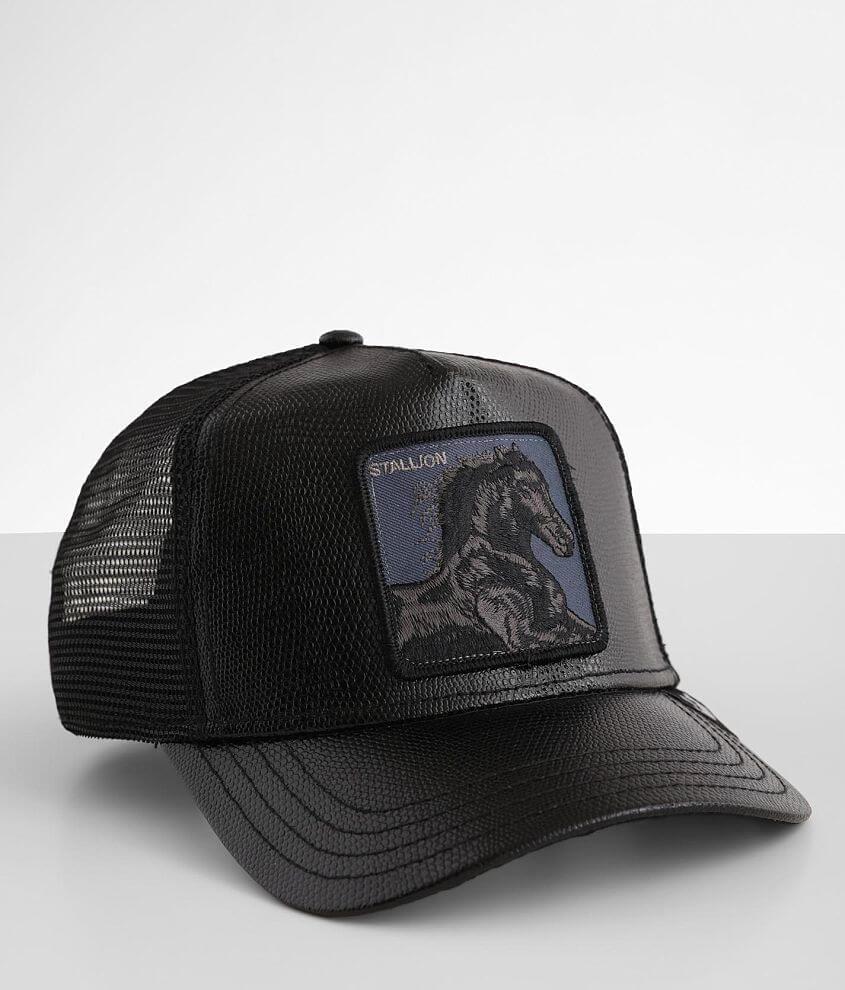 Goorin Brothers Black Stallion Trucker Hat front view