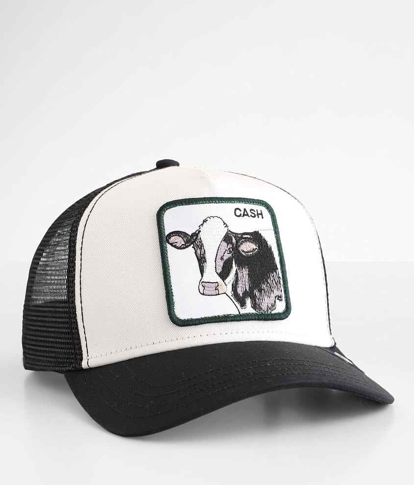 Goorin Brothers Cash Cow Trucker Hat front view