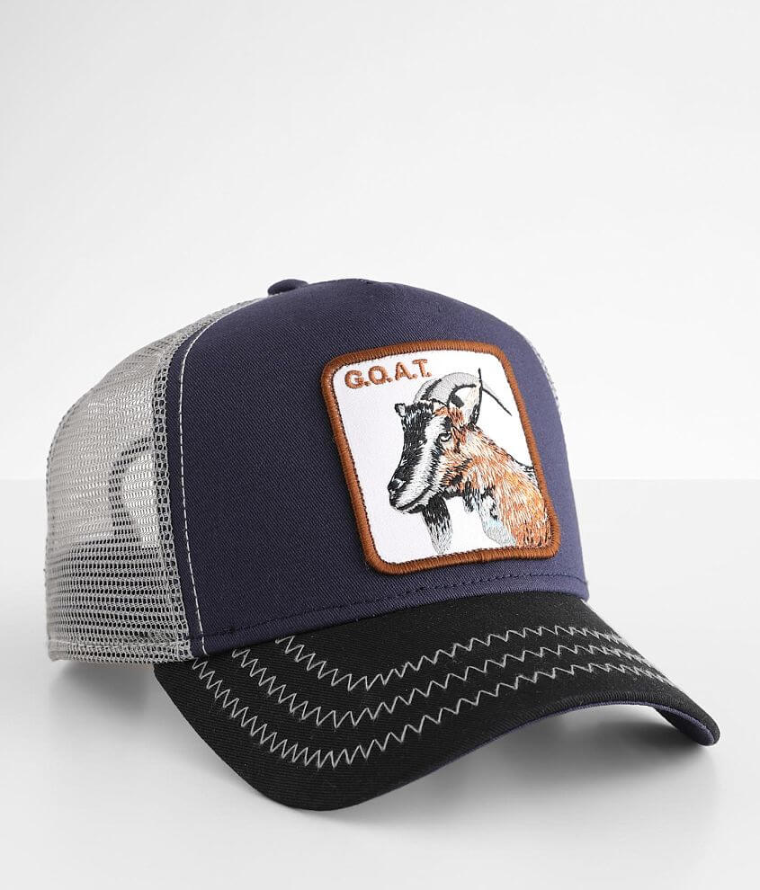 Goorin Brothers G.O.A.T. Trucker Hat front view