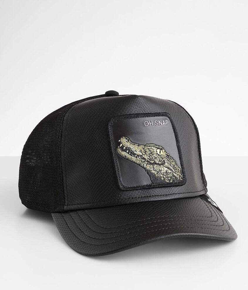 Goorin Brothers Leaping Lizard Trucker Hat front view