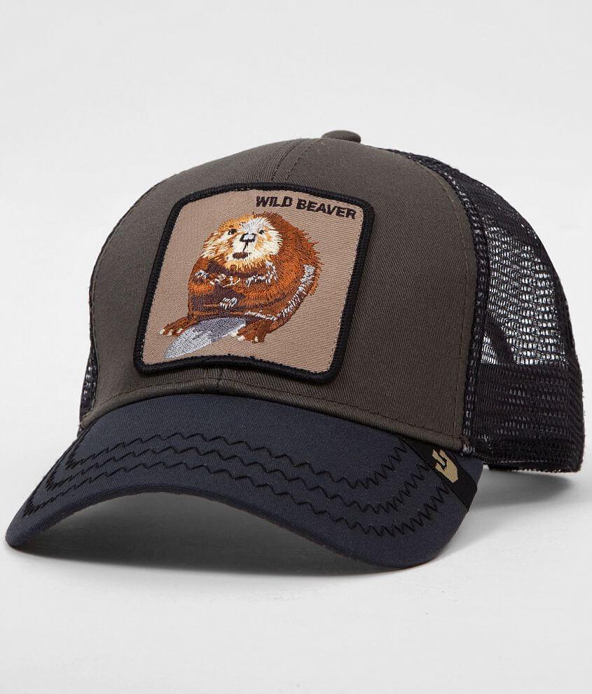 Goorin Brothers Wild Beaver Trucker Hat front view