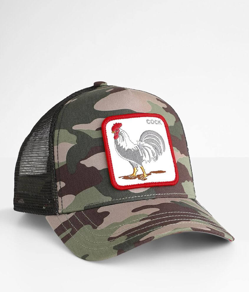 Goorin Brothers Rooster Trucker Hat front view