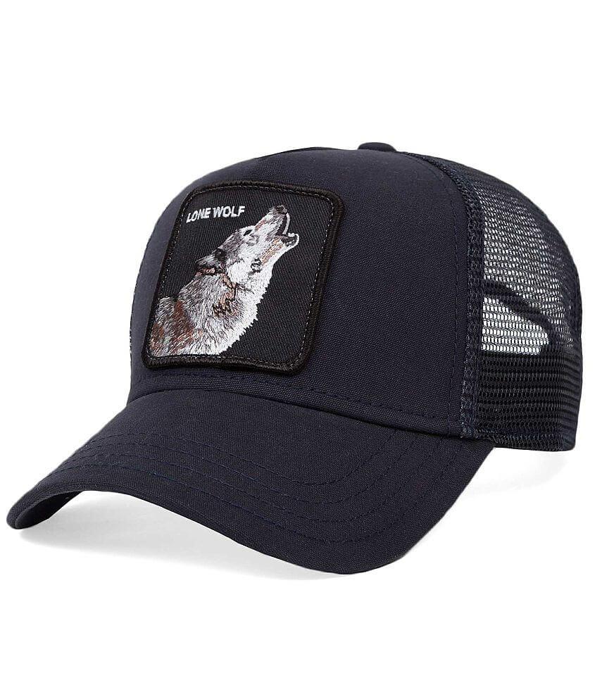 Goorin Brothers Wolf Trucker Hat front view