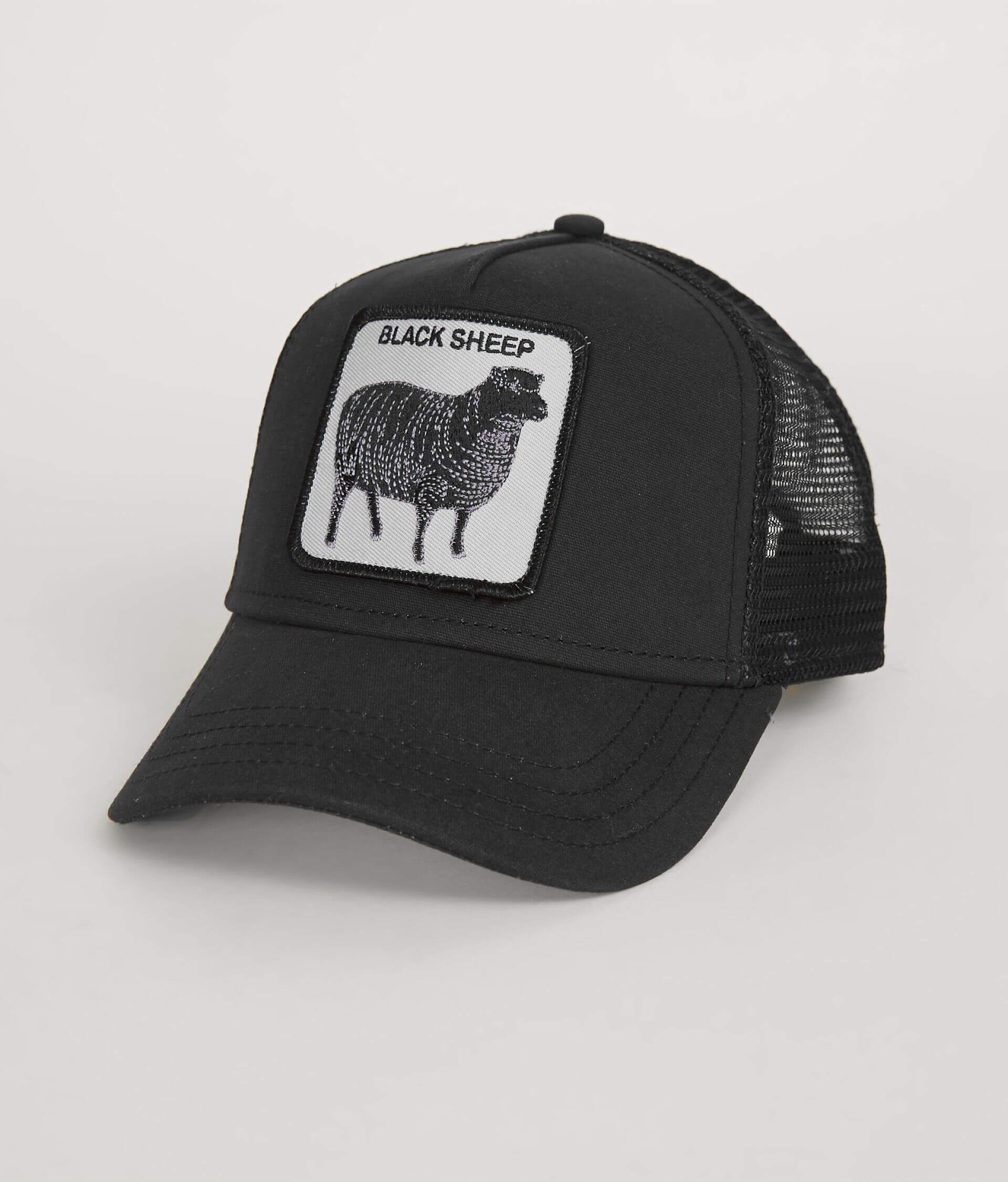 7d48e558b4cac Goorin Brothers Black Sheep Trucker Hat - Men s Hats in Black