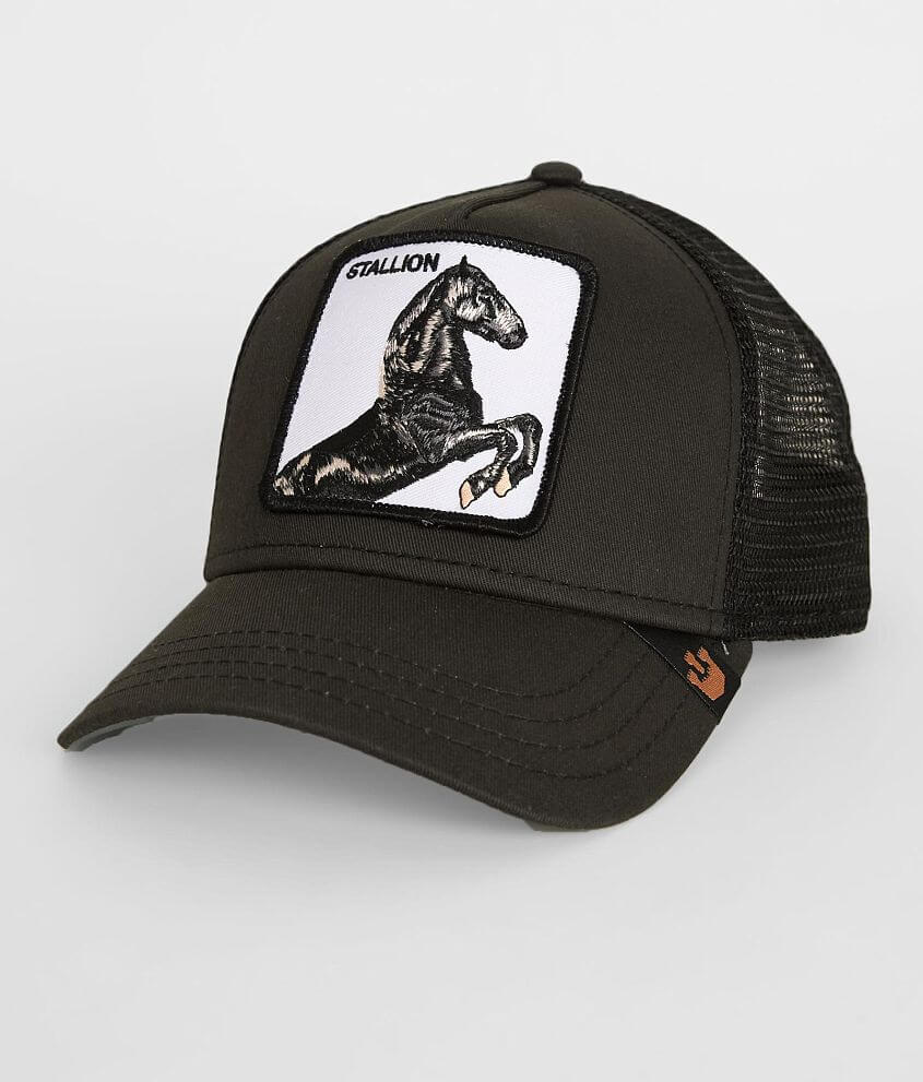 Goorin Brothers Stallion Trucker Hat - Men s Hats in Black Olive ... 3991ba2ad91