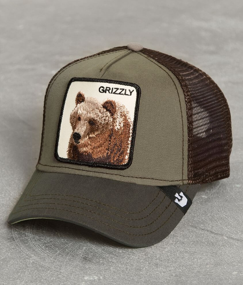 82dea6a4e5e Goorin Brothers Grizz Trucker Hat - Men s Hats in Olive