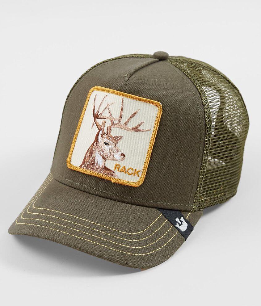 20233bff Goorin Brothers Rack Trucker Hat - Men's Hats in Olive | Buckle