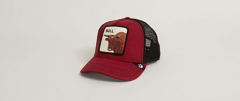 Goorin Brothers Bull Trucker Hat front view