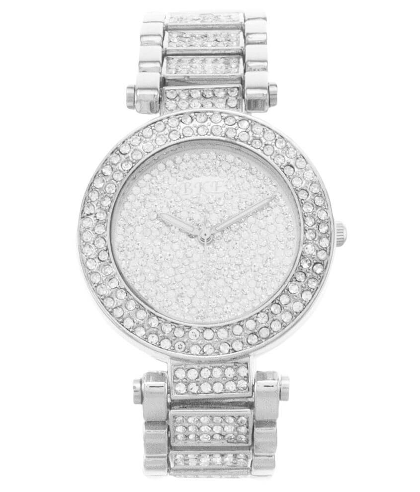 BKE Pave Watch front view
