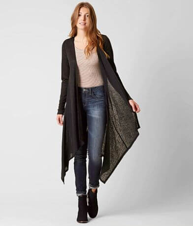 Daytrip Pointelle Cardigan Sweater
