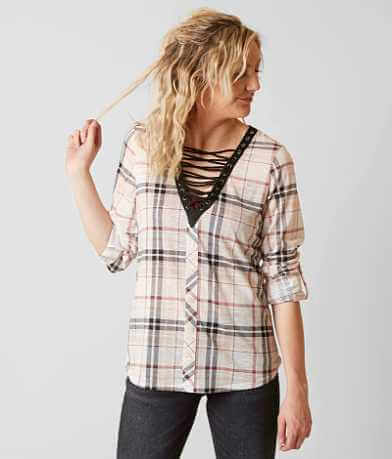 Daytrip Plaid Top