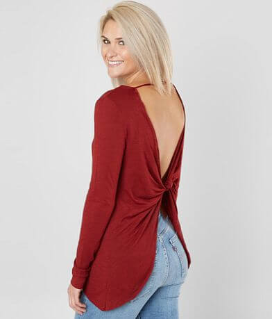 Daytrip Twisted Back Top