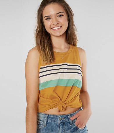 FITZ + EDDI Striped Tank Top