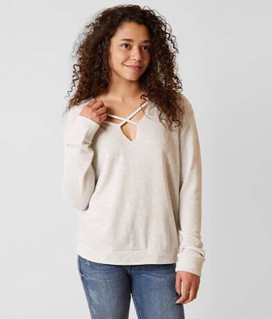 Daytrip Heathered Sweatshirt