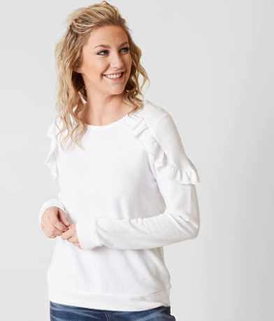 Daytrip Ruffle Sweatshirt