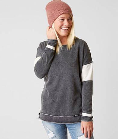 FITZ + EDDI Raw Edge Sweatshirt