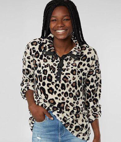 BKE Cheetah Wubby Pullover