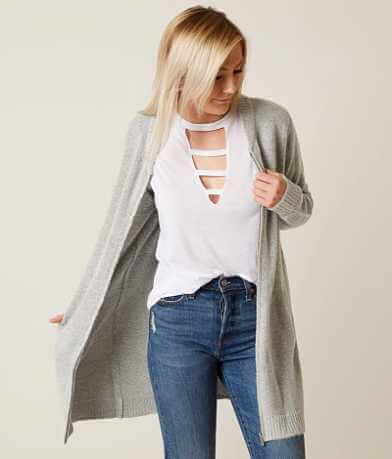 Daytrip Sponge Yarn Cardigan Sweater