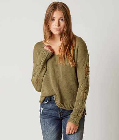 Daytrip Shredded Sweater