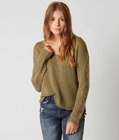 Daytrip Shredded Sweater