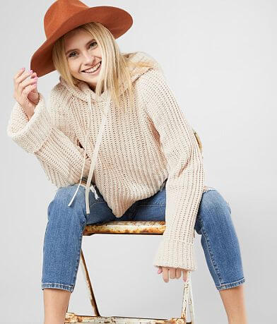 Daytrip Chenille Hooded Sweater
