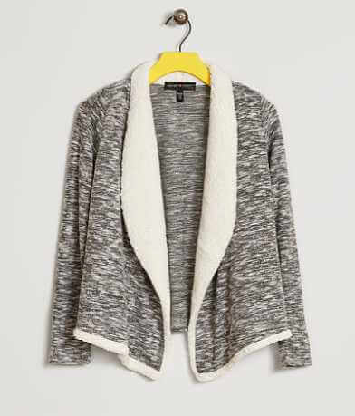 Girls - Derek Heart Fleece Cardigan