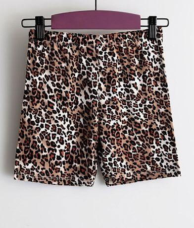 Girls - Daytrip Cheetah Print Biker Short