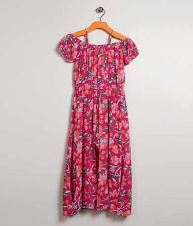 Girls - Daytrip Floral Maxi Romper