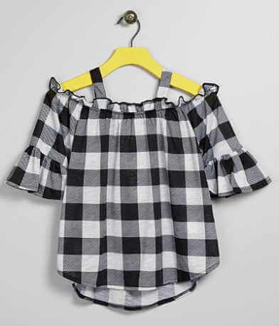 Girls - Daytrip Plaid Top