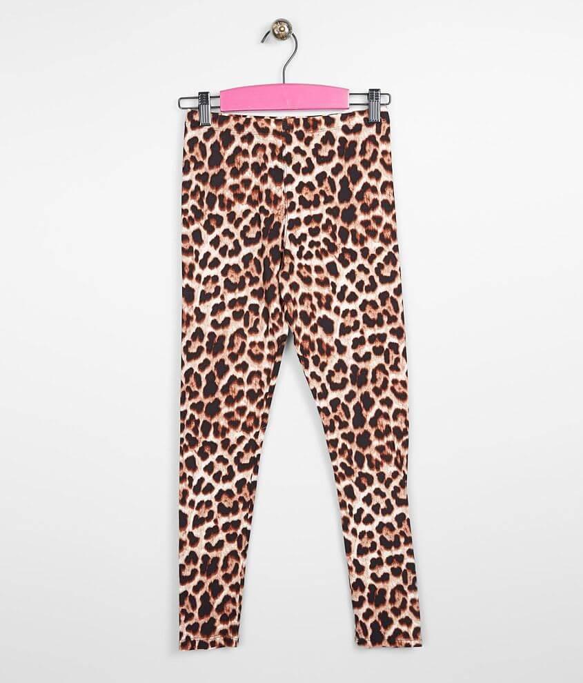Girls - Daytrip Cheetah Legging front view