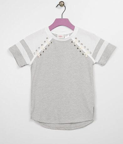 Girls - Daytrip Varsity Stripe Raglan T-Shirt