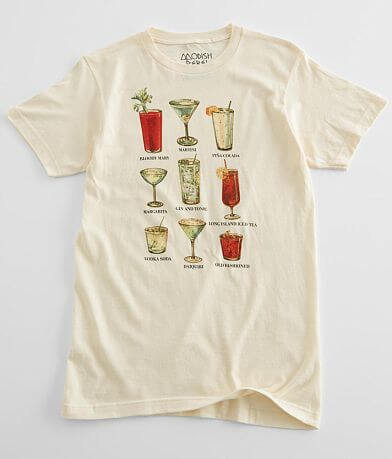Modish Rebel Drink Chart T-Shirt